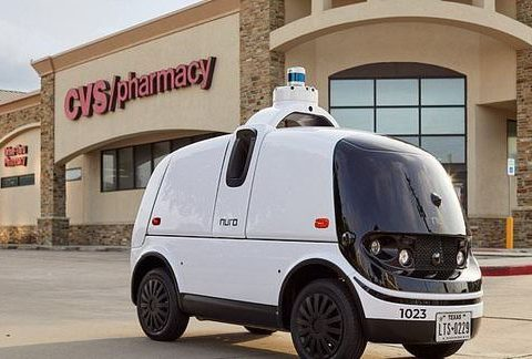 , Robot cars made by driverless technology company will deliver prescription medicine to CVS customers | Daily, The Circular Economy