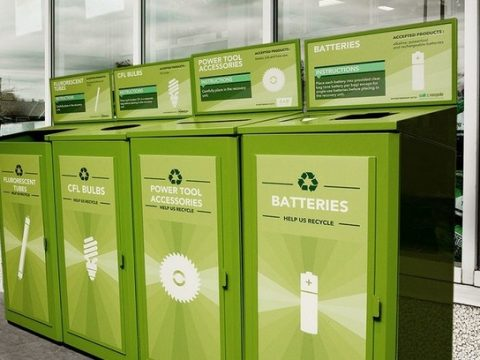 , Lowe's Canada Diverted 255,000 Pounds of Batteries from Landfills, The Circular Economy