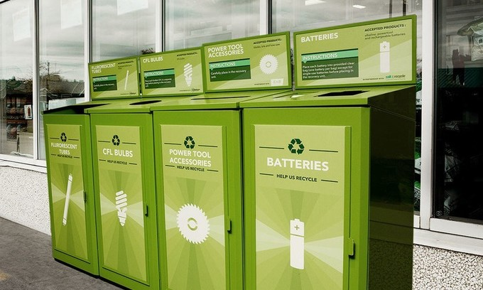, Lowe's Canada Diverted 255,000 Pounds of Batteries from Landfills, The Circular Economy, The Circular Economy