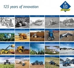 , New Holland Agriculture Celebrates 125 Years of History. Making Farming More Productive, Efficient and Sustainable, The Circular Economy