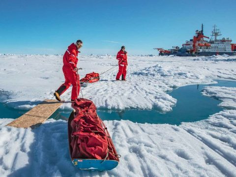 , Arctic explorers find unusually thin ice as a result of climate change, The Circular Economy