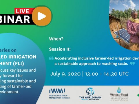 , Webinar: Accelerating Inclusive Farmer-Led Irrigation Sustainably – GWP, The Circular Economy