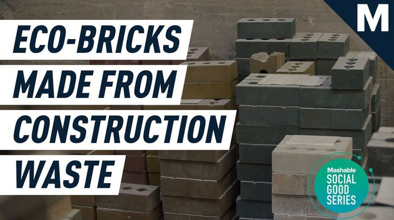 , These unfired recycled bricks are building a revolution in sustainable construction, The Circular Economy