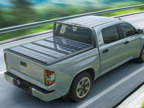 , A solar-panel bed cover brings sustainable power to gas-powered pickups — and could someday help charge EVs pickups from Rivian, Ford, and GM, The Circular Economy