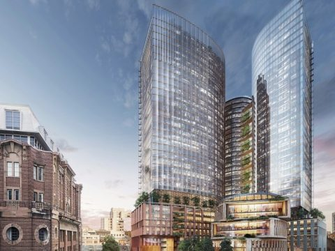 """, SOM plans sustainable skyscrapers for """"Australia's Silicon Valley"""", The Circular Economy"""