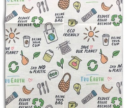 , Beeswax Food Wrap Assorted 3-pack by , Eco Friendly, Reusable, Sustainable, Zero Waste, Plastic Free Alternative for Food Storage – 1 Small, 1 Medium, 1 Large, The Circular Economy