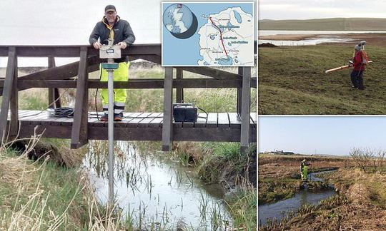 , Lost Viking waterway running across mainland Orkney revealed, The Circular Economy