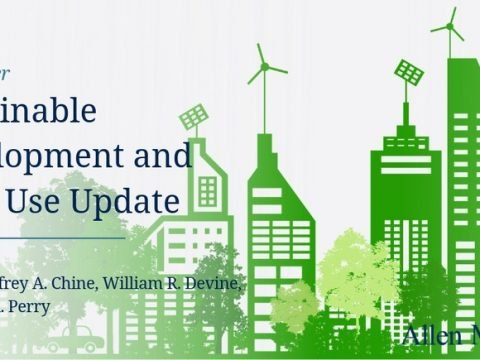 , Sustainable Development and Land Use Update – August 20, 2020   Allen Matkins, The Circular Economy