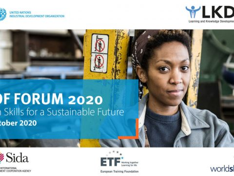 , Take part in UNIDO's LKDF Forum — Green Skills for a Sustainable Future, The Circular Economy