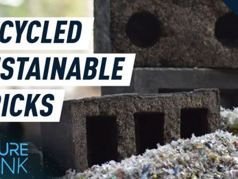 , This sustainable brick is made of recycled sand and plastic waste, The Circular Economy