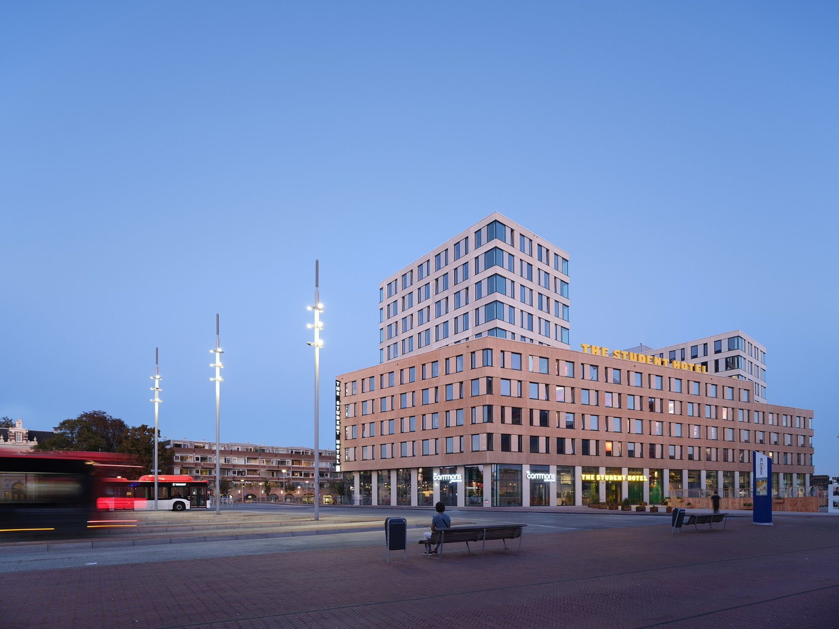 , The Student Hotel in Delft sustainable accommodation by KCAP | Livegreenblog, The Circular Economy