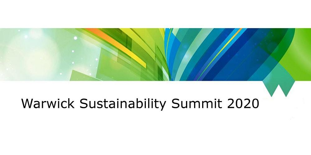 , Warwick Sustainability Summit 2020 – Thu 3 Dec 2020 at 17:00, The Circular Economy