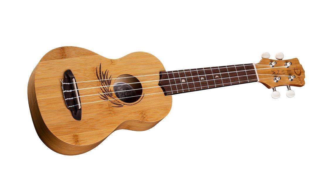 , Luna Guitars Sustainable Bamboo Soprano Ukulele, The Circular Economy