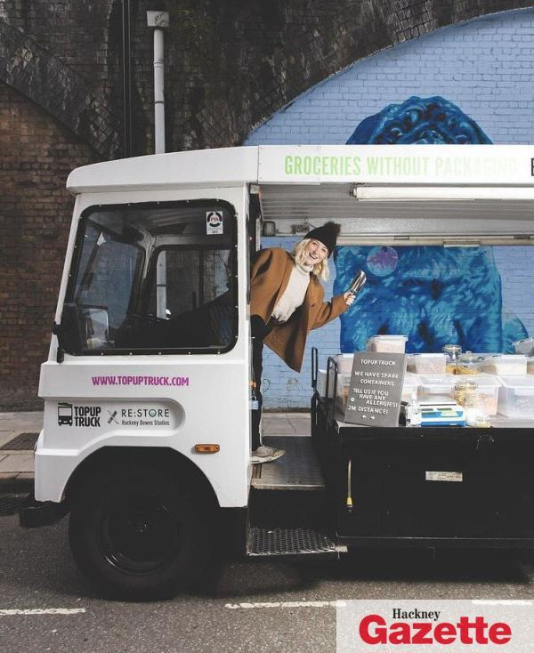 , Shop local: Zero-waste converted milk float delivers sustainable food to Hackney residents, The Circular Economy