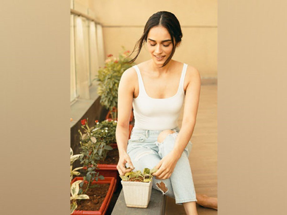 , Manushi Chhillar wishes to have 'fully sustainable garden at home' | Entertainment, The Circular Economy