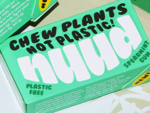 , Your Favorite Chewing Gum Is Likely Full Of Plastic; Nuud Wants To Be Your New Plastic-Free Brand | Dieline – Design, Branding & Packaging Inspiration, The Circular Economy